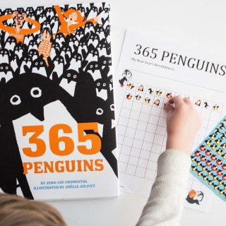 """365 Penguins"" and A New Year's Resolution Activity"