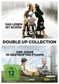 Double Up-Collection (Das Leben ist schön & Der Junge im gestreiften Pyjama (DVD Cover) © Arthaus