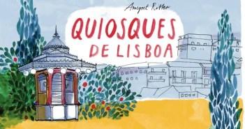 Annegret Ritter - Quiosques de Lisboa (Cover © kunstanstifter Verlag)