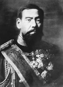 Meiji in his 50's