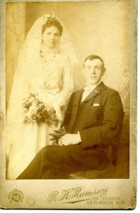 My paternal grandparents in the Shetlands