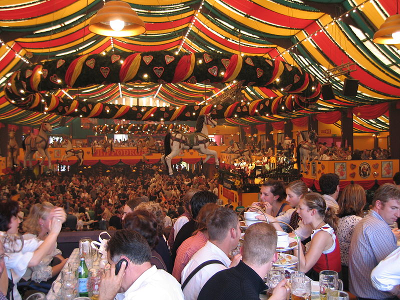 Only beer conforming to the Reinheitsgebot and brewed within the city limits of Munich can be served at the Munich Oktoberfest. & Munich Oktoberfest | BOOK OF DAYS TALES