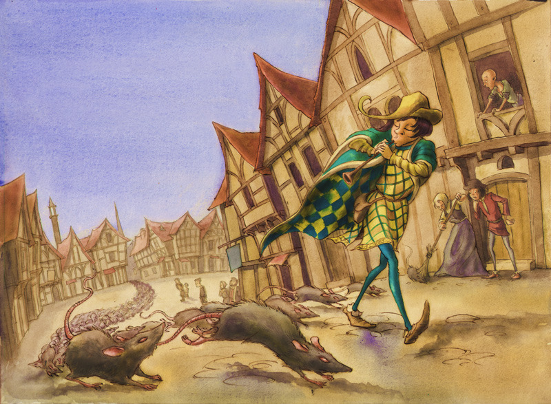 pied piper of hamelin book of days tales