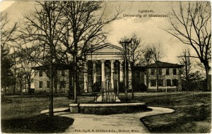 From Lyceum, University of Mississippi.  Sysid 89912.  Scanned as tiff in 2009/06/23 by MDAH.  Credit:  Courtesy of the Mississippi Department of Archives and History
