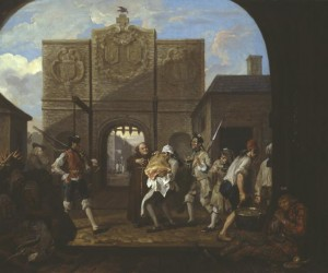 O the Roast Beef of Old England ('The Gate of Calais') 1748 William Hogarth 1697-1764 Presented by the Duke of Westminster 1895 http://www.tate.org.uk/art/work/N01464