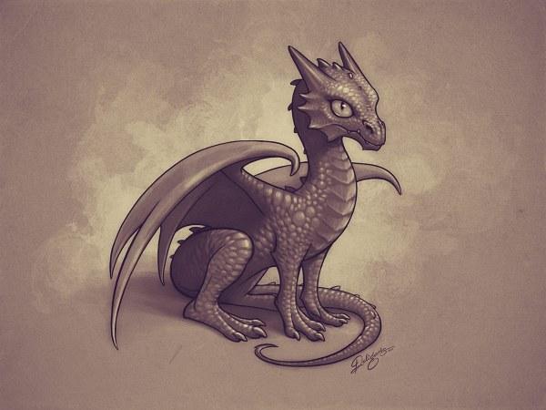 Piq - Baby Dragon 200x200 Pixel Art Kairi Lon
