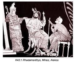 Minos, Rhadamanthys and Aeacus
