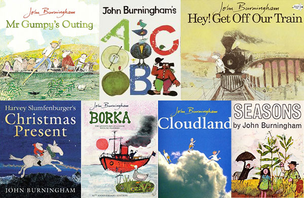John Burningham Books