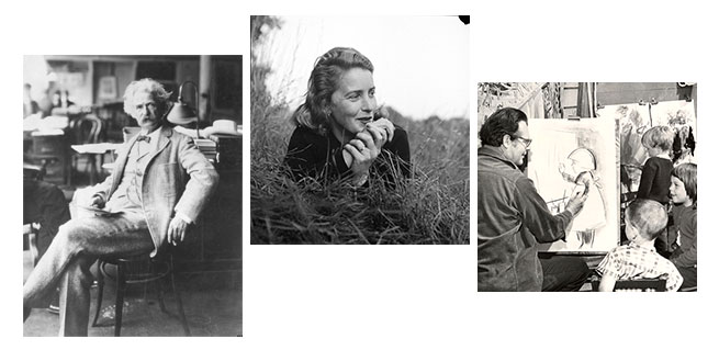Mark Twain, Margaret Wise Brown, and Don Freeman
