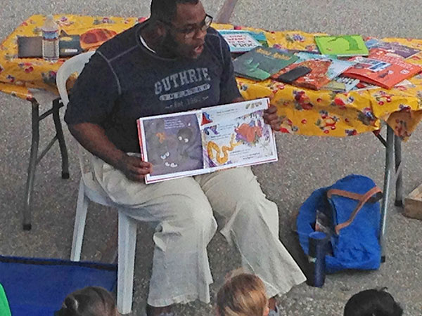 Reading at the Mill City Farmers Market