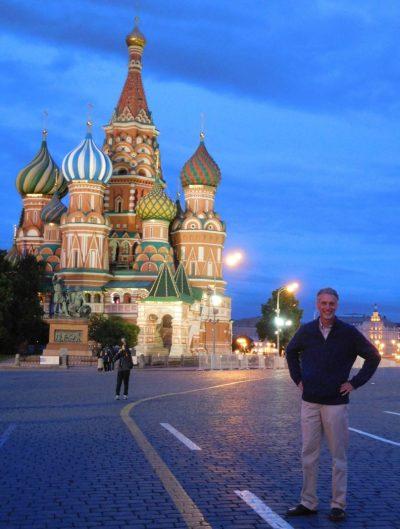 David LaRochelle in Moscow