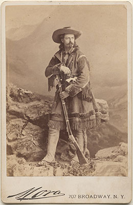 Buffalo Bill Cody by José Maria Mora