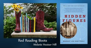 Red Reading Boots Hidden Figures