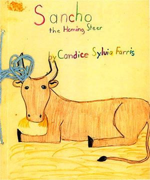 Sancho The Homing Steer By Candice Sylvia Farris