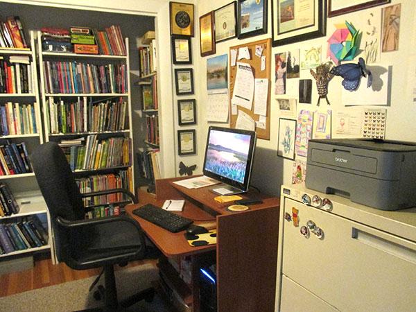 Melissa Stewart's office