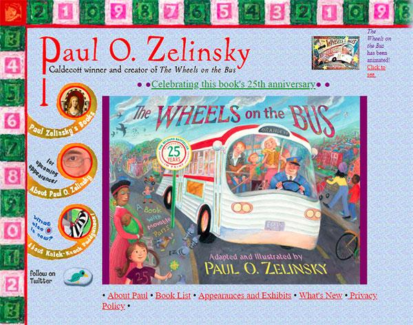 Paul O. Zelinsky's website