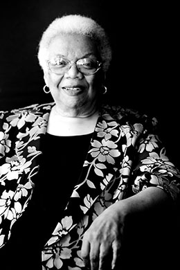 Lucille Clifton, poet and author