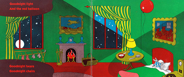 illustration from Goodnight Moon