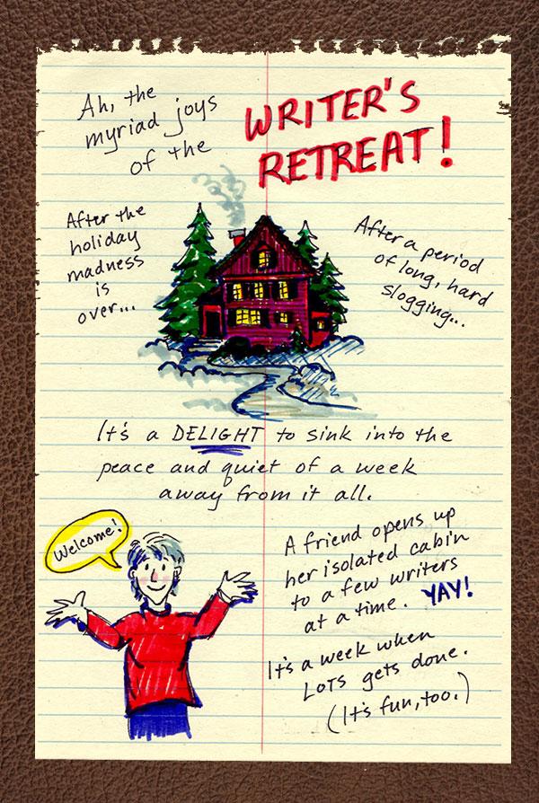 Page Break Writer's Retreat