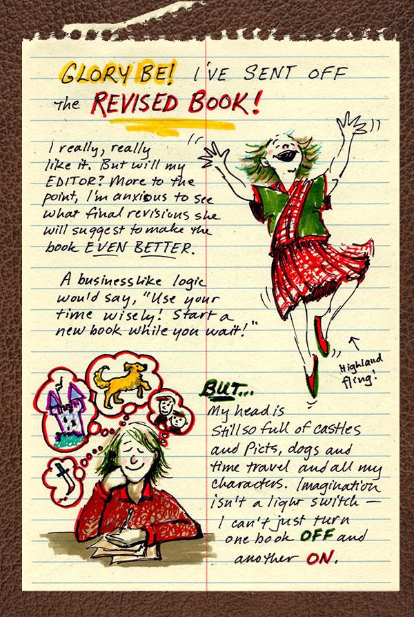 Page Break by Lynne Jonell