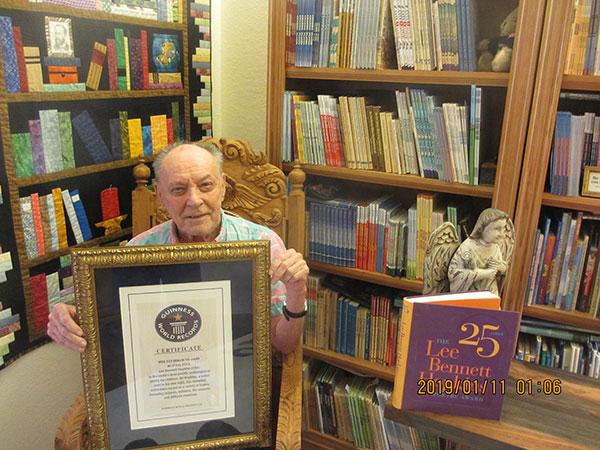 Lee Bennett Hopkins Guinness Book of World Records