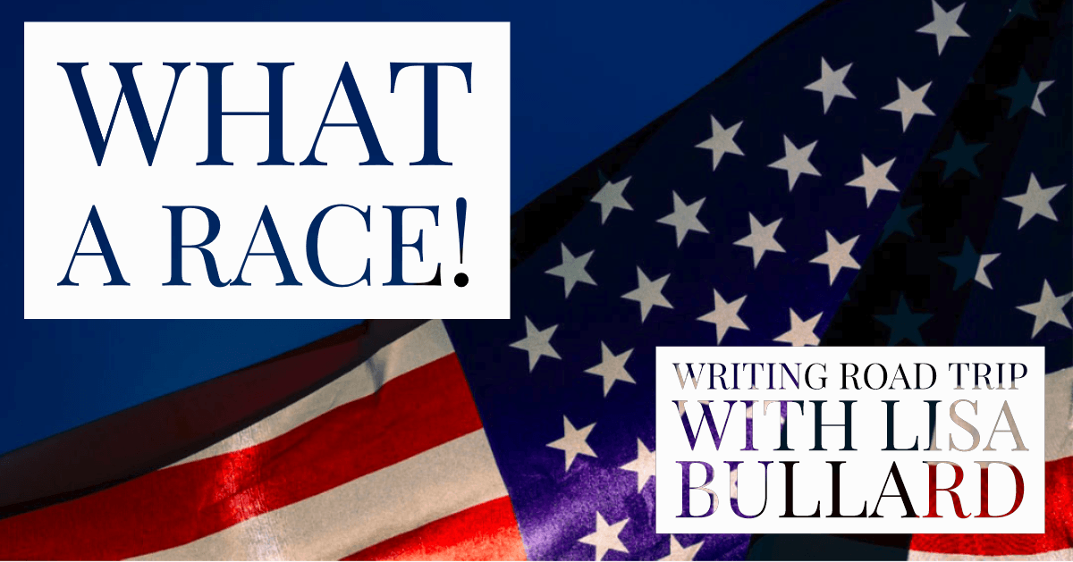 What a Race! | Writing Road Trip by Lisa Bullard