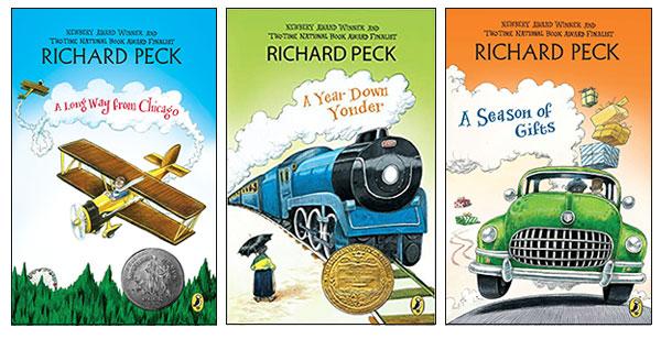 Richard Peck trilogy