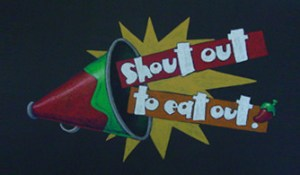 Chili's Shout Out to Eat Out promotion