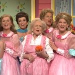 Betty White SNL Lawrence Welk Sisters (video)