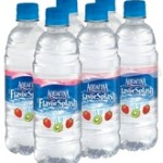 Raspberry Aquafina and Smoothies