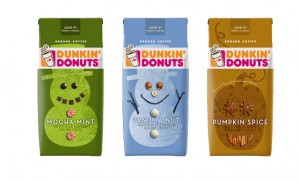 Dunkin Donuts Holiday Flavored Coffee