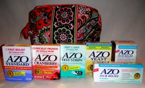 AZO Kit Very Berry Paisley bag