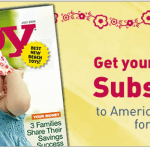Free Subscription to American Baby
