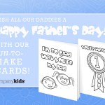 Company Kids Free Father's Day Cards and Backpack Giveaway