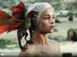 And Never underestimate a Blond with a Chip her shoulder and a DRAGON on the other