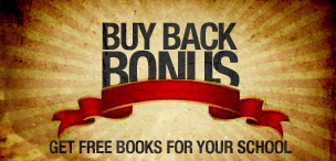 Buy Back Bonus! Get Free Books For Your School