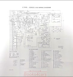 jaguar wiring maintenance xke e type electrical v12 s3 1971 1975 ebaylarge 20 x20 double sided foldout wiring diagram by jaguar for all 1971 1975 s3 e  [ 1953 x 1742 Pixel ]