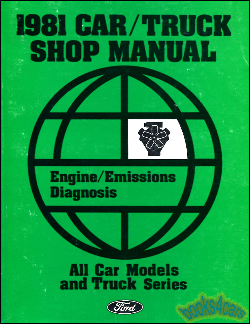 1981 Fairmont And Zephyr Electrical Vacuum Troubleshooting Manual