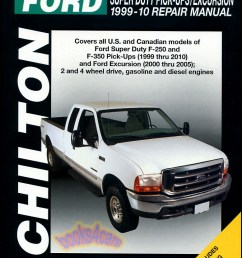 ford f250 f350 shop service repair manual chilton book haynes pickup 4x4 truck ebay [ 778 x 1039 Pixel ]