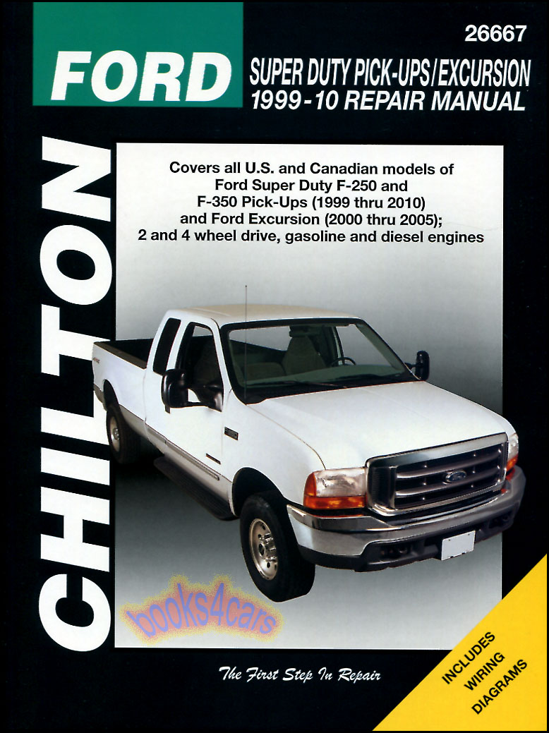 medium resolution of ford f250 f350 shop service repair manual chilton book haynes pickup 4x4 truck ebay