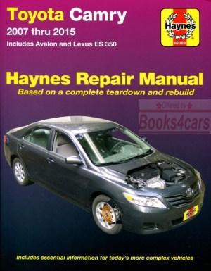 SHOP MANUAL SERVICE REPAIR HAYNES TOYOTA LEXUS BOOK ES350