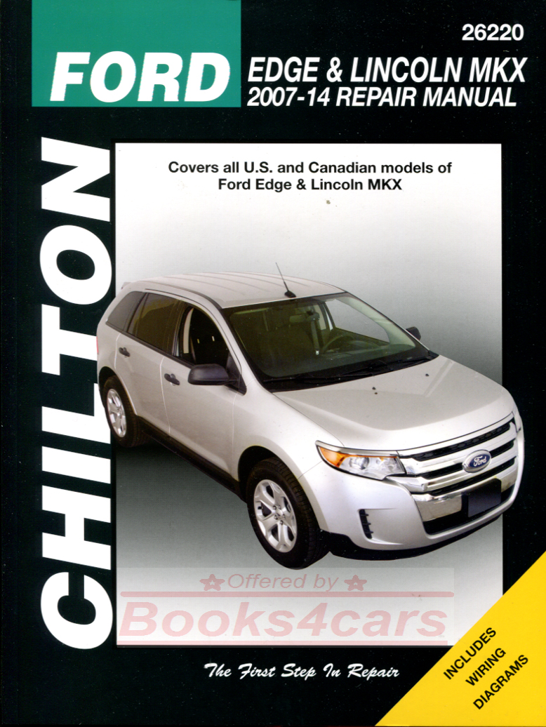 medium resolution of real book bumper to bumper repair manual for all 2007 2014 ford edge lincoln mkx by chilton in new never opened condition