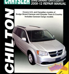 details about chrysler town country dodge grand caravan repair manual van chilton 2008 2012 [ 778 x 1029 Pixel ]