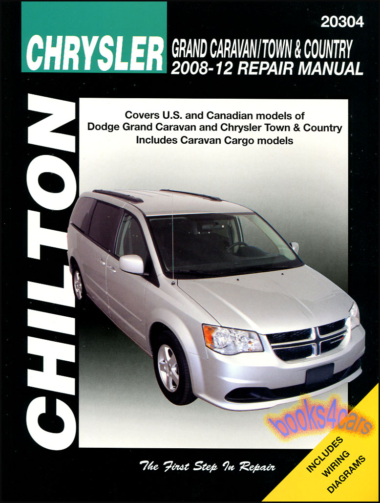 medium resolution of details about chrysler town country dodge grand caravan repair manual van chilton 2008 2012