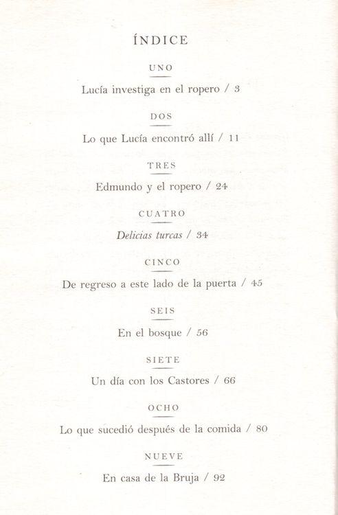 El Leon la Bruja y el Ropero (Lion the Witch and the