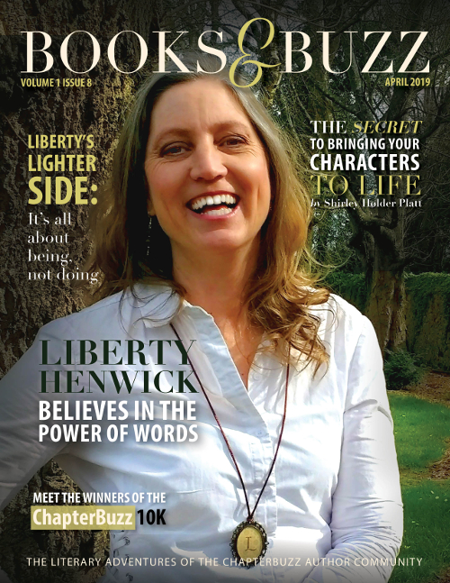 Books & Buzz Magazine, April 2019, Volume 1 Issue 8