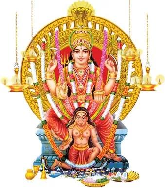 Goddess Attukkal Bhagavathy