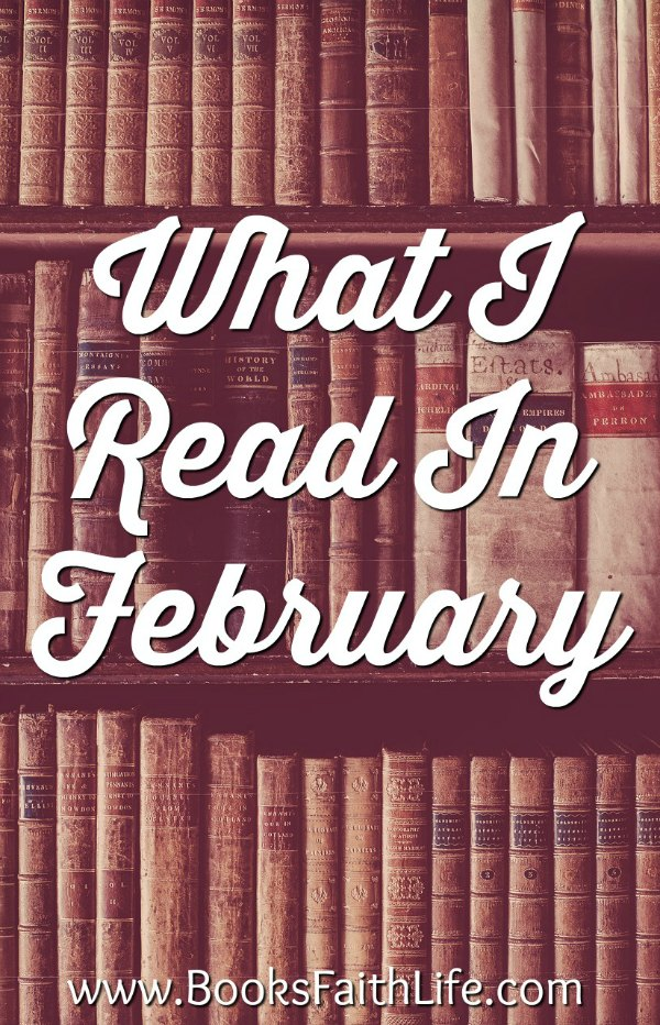 Quick lit. Short reviews of the 8 books I read in February.