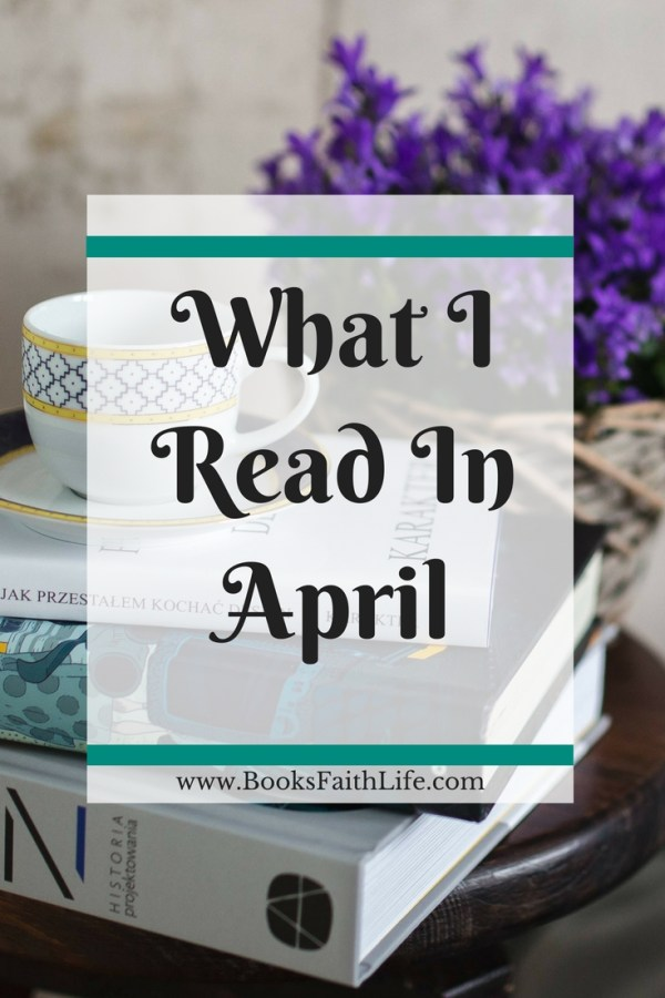 Only 7 finished books this month, and two were quite short. I'm so excited about one book, I had to start a Facebook book club to share it with others.