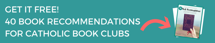 Snag my top recommendations for theology, fiction, motherhood, and Catholic classics. I even tell you if something is a beginner or an advanced book to use in your club.